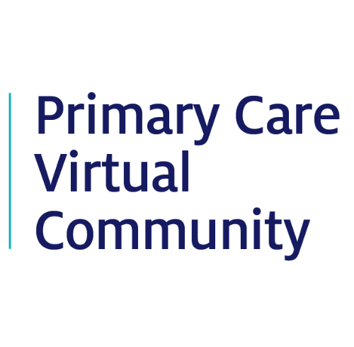 Registration page for Primary Care Virtual Community